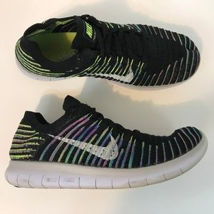 Nike Free RN Natural Flyknit Womens Running Shoe 9